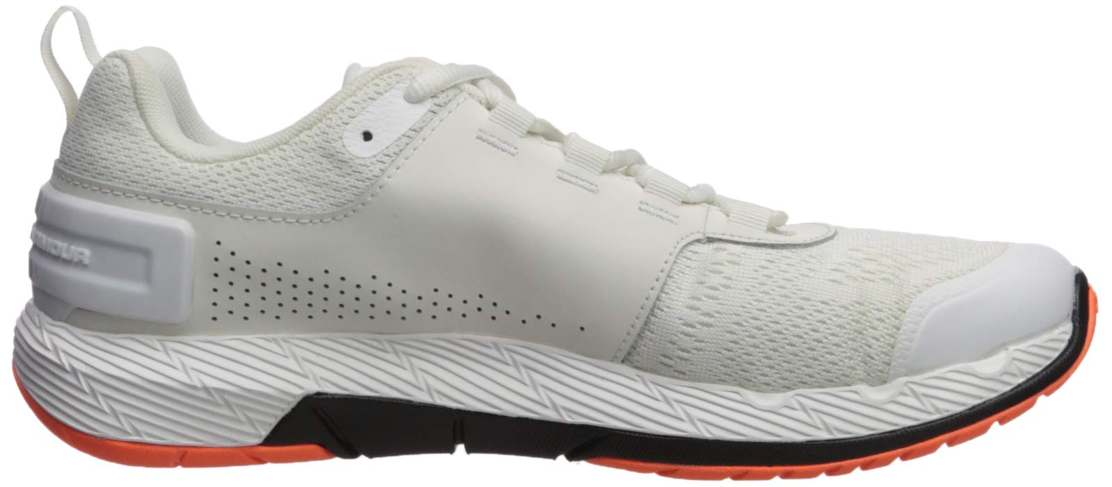 Under Armour Men's Commit TR EX Sneaker, Onyx White (108)/Black, 7 M US by Under Armour (Image #6)