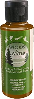 product image for Badger Air-Brush Co. 4-Ounce Woods and Water Airbrush Ready Water Based Acrylic Paint, Rich Brown