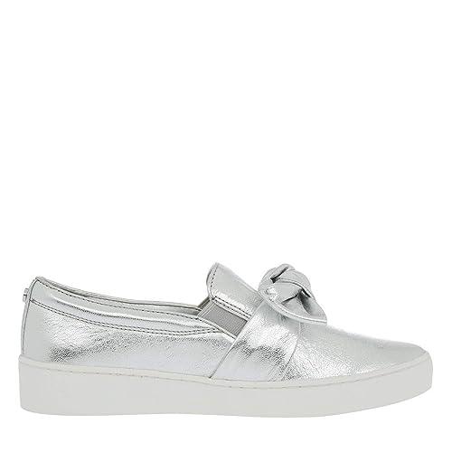 e68162fdf Michael Kors Willa Slip On Trainers Metallic: Amazon.co.uk: Shoes & Bags