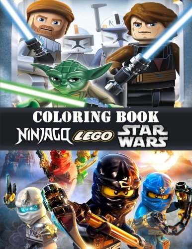 Book LEGO Ninjago, Star Wars coloring book<br />PPT