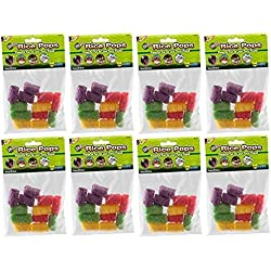 Ware Manufacturing 8 Pack of Small Rice Pops Small Animal Treats (Each Pack Contains 12 Treats / 96 Treats Total)