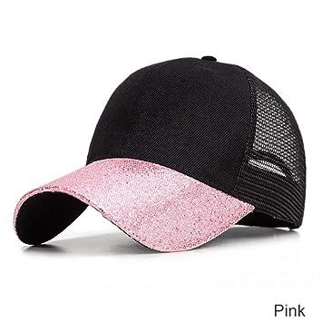 FBXYL Gorras De Patchwork Glitter Sombreros De Verano para Mujer ...