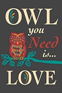product image for Owl You Need Is Love 56016 (12x18 SIGNED Print Master Art Print, Wall Decor Poster)