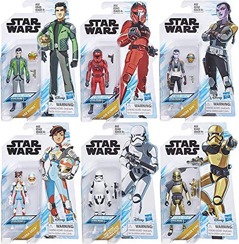 "NEW Star Wars RESISTANCE 3.75/"" wave 1 SYNARA SAN READY TO SHIP"