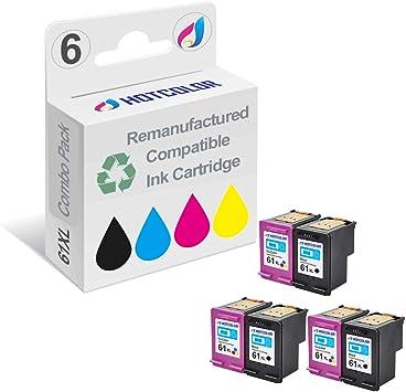 3-PK For HP 61 Black /& Color Ink Cartridges For Deskjet 1000 1050 1051 2050