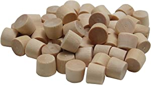 General Tools 315516 5/16-Inch Flat Head Plugs, FSC Ethically Sourced Hardwood, 50-Pack