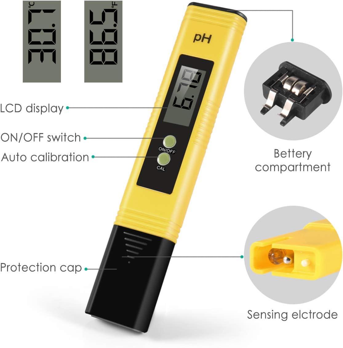Money2U 0-14 Measurement Range Digital Ph Meter