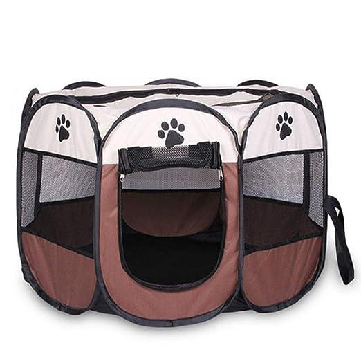 DGJEL Tienda de campaña portátil Plegable para Mascotas, Jaula ...
