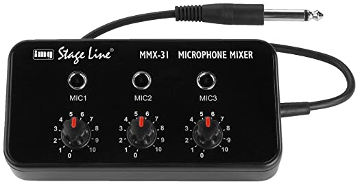 6 opinioni per MONACOR MIXER MICROFONICO MMX-31