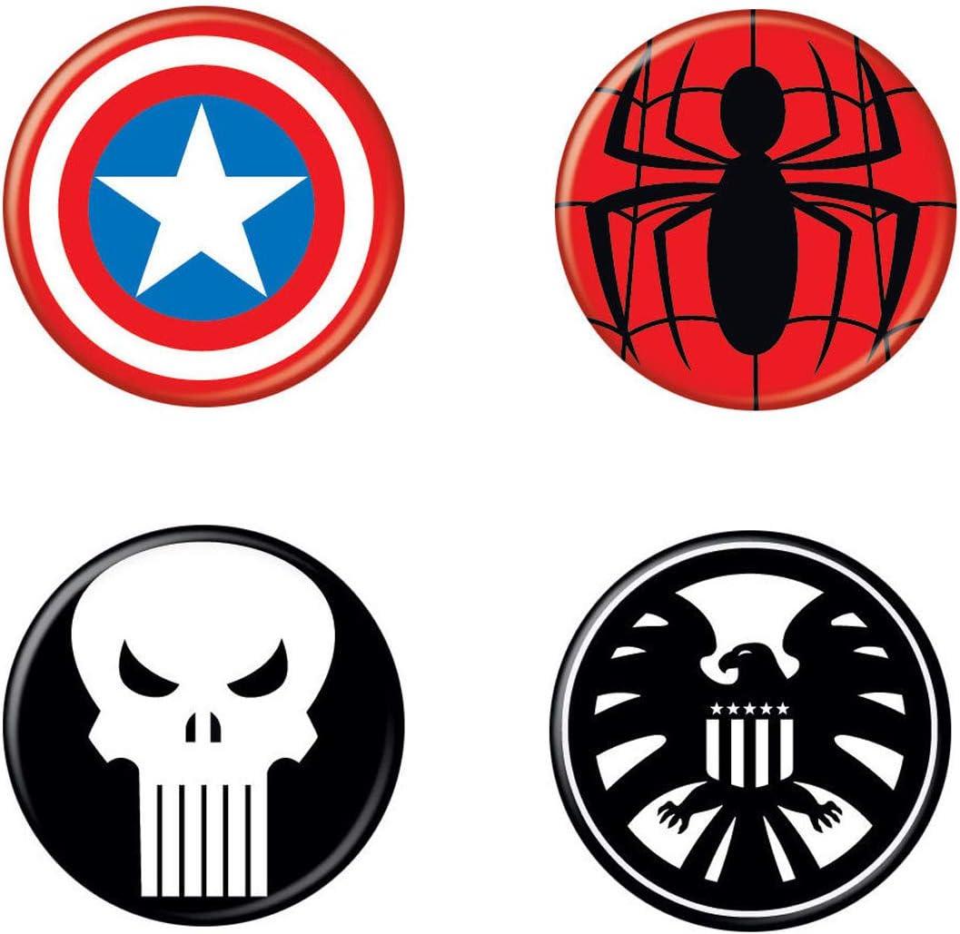 2 Stickers Punisher Decal Comics D-009 Couleurs au choix