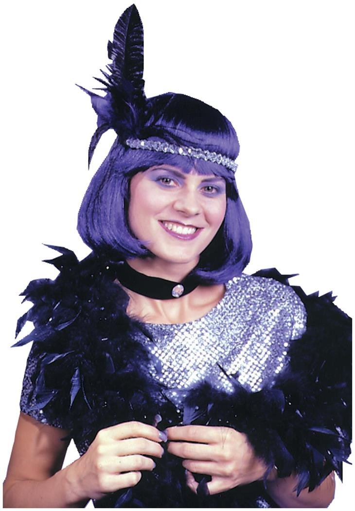 Boa 5 Ft Glitter Feather Costume Accessory