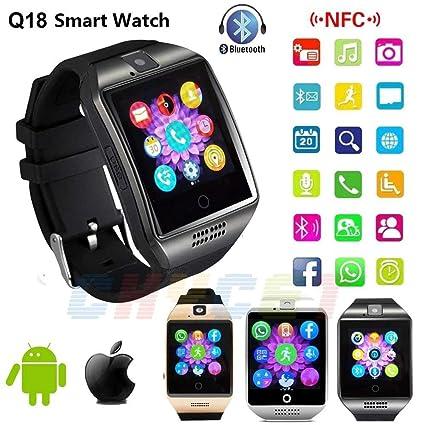 Amazon.com: FAIYIWO NFC Bluetooth Smart Watch Q18 with ...