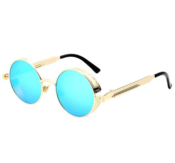 YANQIUYU Gótico John Lennon Steampunk Gafas de sol para ...