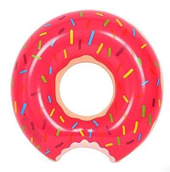 OOFWY JAYLONG Donut gigantesca piscina inflable flota de la piscina juguetes flotador de la natación para