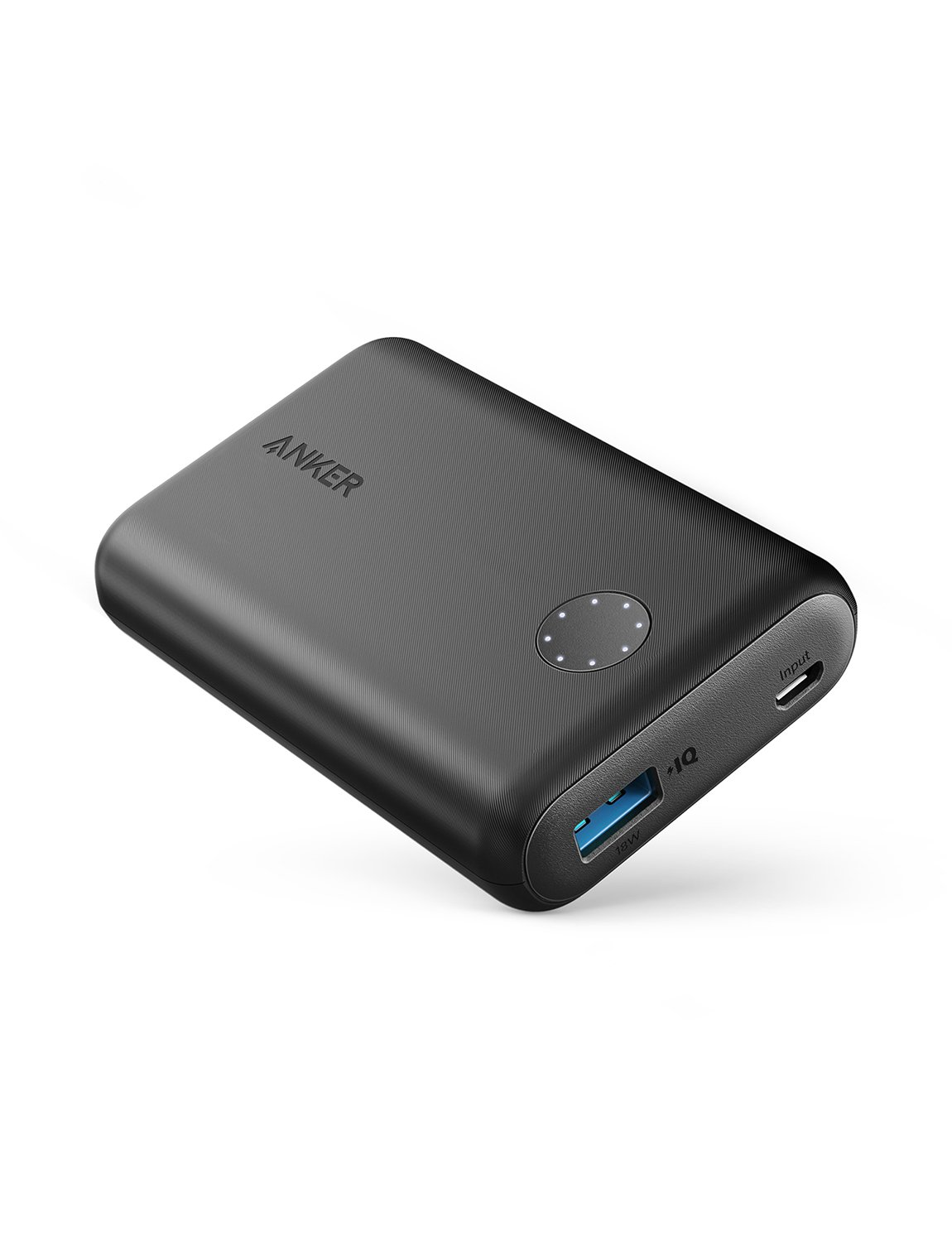 Anker PowerCore II 10000, Ultra-Compact 10000mAh Portable Charger, Upgraded PowerIQ 2.0 (up to 18W Output), Fast Charge for iPhone, Samsung Galaxy and More A1230011