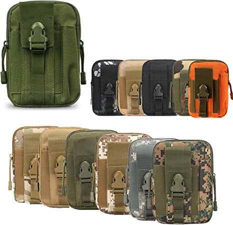 Outdoor Tactical Military Shoulder Bag Molle Utility Waist Belt Pouch Fanny Pack