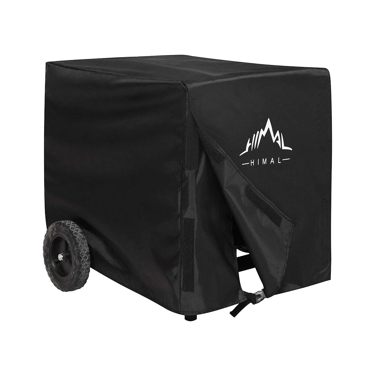 Himal Weather/UV Resistant Generator Cover 32 x 24 x 24 inch,for Universal Portable Generators 5000-10,000 Watt, Black by Himal Outdoors