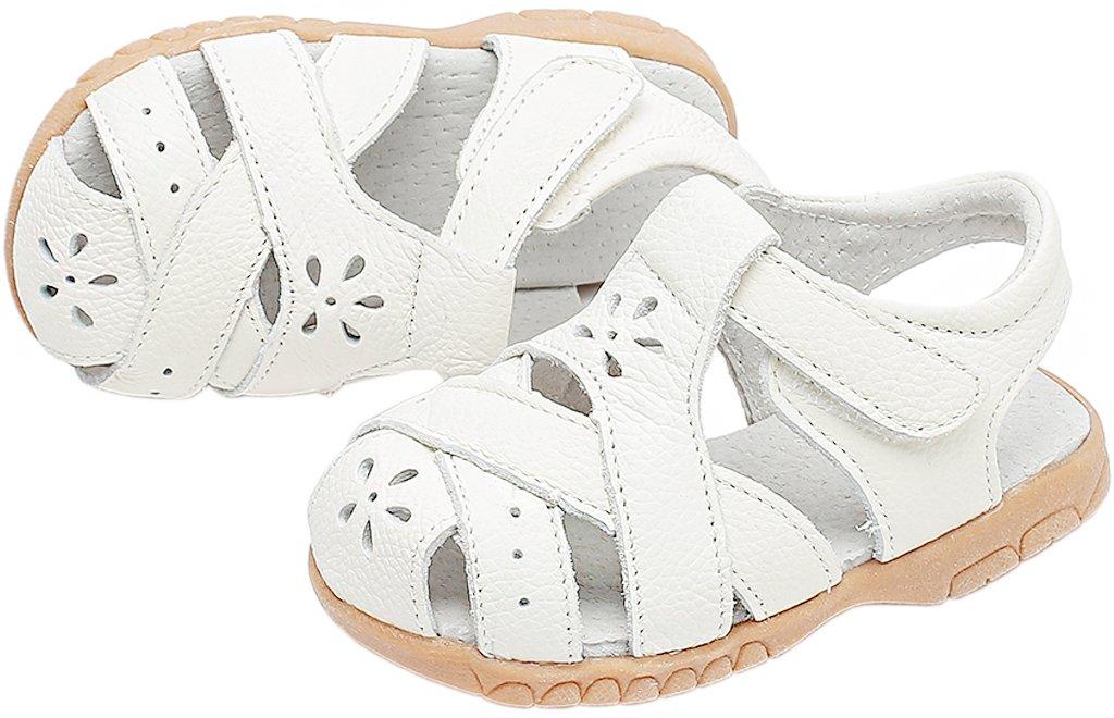 022a2a203f1d27 ... Gaatpot Fille Sandales et Nu-Pieds Bout Fermé Chaussure dété pour  Enfants en Cuir 20