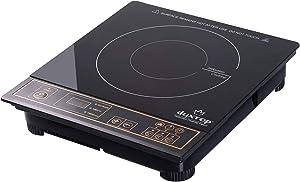 Duxtop 1800W Portable Induction Cooktop Countertop Burner, Gold 8100MC