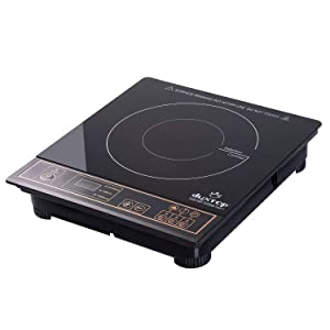 DUXTOP 1800-Watt Portable Induction Cooktop Countertop Burner 8100MC, gold