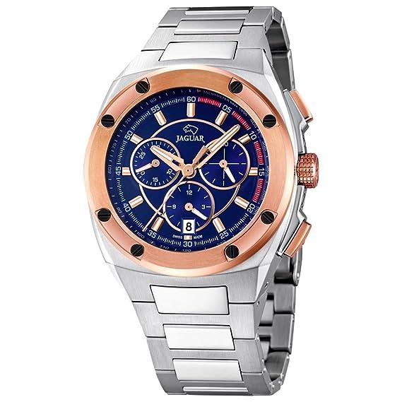 420fb004a6d6 Reloj Suizo Jaguar Hombre J808 3 Cronógrafo Acero