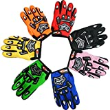 Leopard Junior Child Kids MX Motocross Gloves (Blue S) Children Dirty Bike Quad Motorcycle Motorbike Gloves