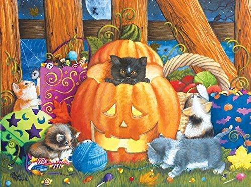Surprise Halloween 300 Piece Jigsaw Puzzle by SunsOut