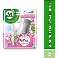 Air Wick Aromatizante de Ambiente Continuo, Aparato Eléctrico y Repuesto, Magnolia Cherry, 21ml
