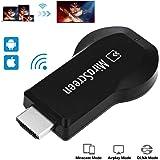 Wireless WIFI Display Dongle, Joyhero Mirascreen MX DLNA Airplay WiFi Display Miracast TV Dongle HDMI Multi-display Full HD 1080P Receiver