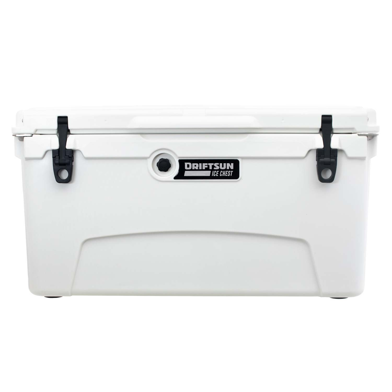 Driftsun 75 Quart Ice Chest, Heavy Duty, High Performance Roto-Molded Commercial Grade Insulated Cooler, White by Driftsun