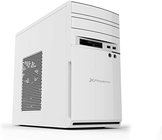 Phoenix Technologies PHCAJAMICROATXW - Caja de Ordenador semitorre ...