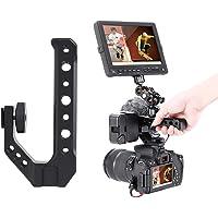 """Yunir Camera Handvat Grip, Universele Handgreep Camera Handvat met Koude Schoen Mount 1/4 """"& 3/8"""" Gaten voor Camera…"""