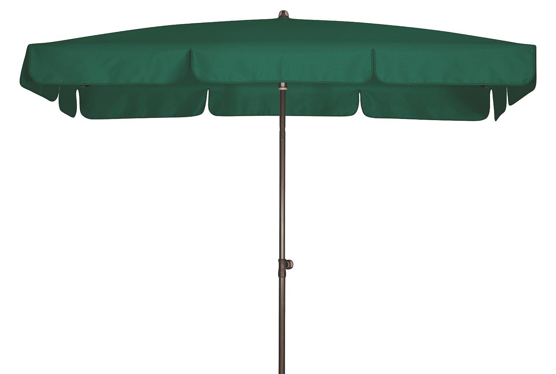 Absolut wasserdichter Gartenschirm Waterproof 225x120 von Doppler mit UV-Schutz 80, Farbe dunkelgrün