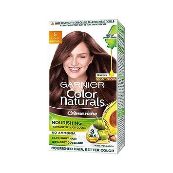 916465bd22d Image Unavailable. Image not available for. Colour  Garnier Color Naturals  Hair Color
