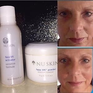 NuSkin Nu Skin Face Lift with Activator - Original Formula - 2.6 Oz Powder 4.2 Oz Activator