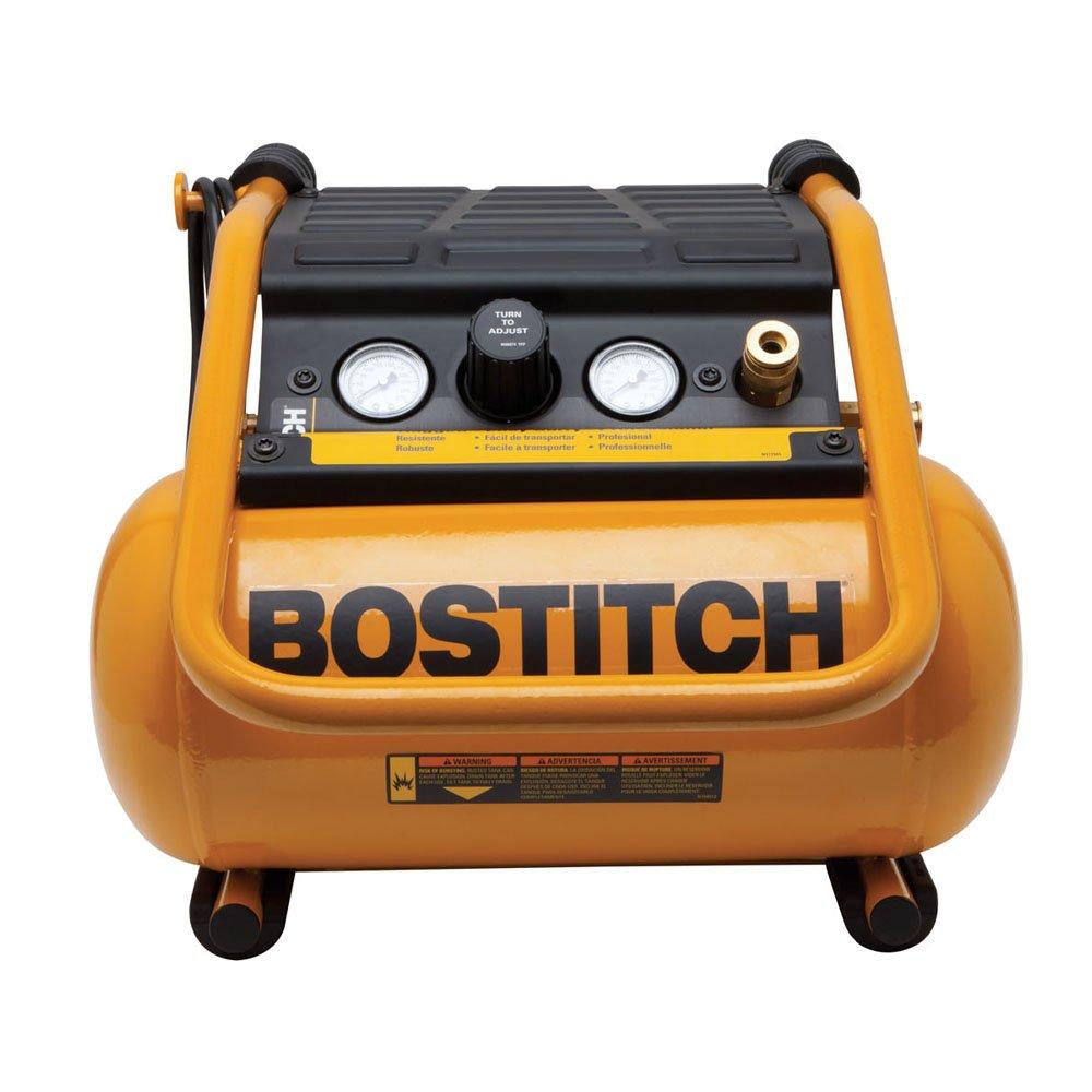 BOSTITCH BTFP01012 2.5-Gallon Suitcase-Style Compressor by BOSTITCH