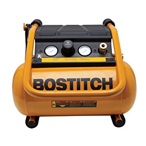 BOSTITCH BTFP01012 2.5-Gallon Suitcase-Style Compressor