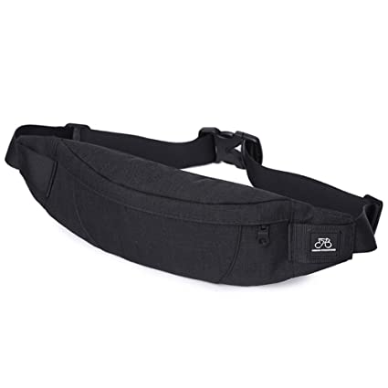 869d81717d15 Amazon.com : GoFar Fanny Pack, Slim Water Resistant Waist Bag Chest ...
