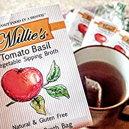 Millie\'s Vegetable Sipping Broth 3 Flavor Assortment, 27 Count