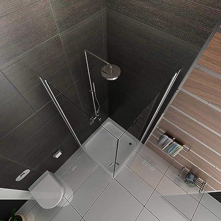 Cabina de ducha completa 90 x 90 x 195 / esquinera / separador de paredes de baño.: Amazon.es: Bricolaje y herramientas