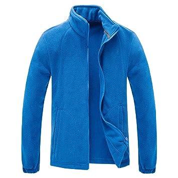 Amazon.com: DGHIkojia Mens Winter Polar Fleece Jacket Men ...