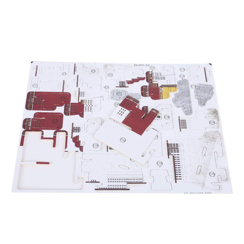 Notre Dame De Paris JOOFFF Simulation Mod/èle Monde en bois Puzzle B/âtiment C/él/èbre Tour Eiffel Big Ben Tower Pont Notre Dame de Paris 3D Puzzle en trois dimensions