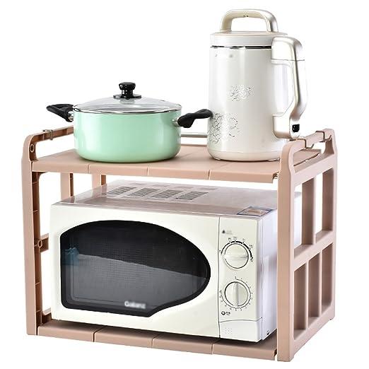 TYSM Estantes Estantes De Almacenamiento Cocina Plástico ...