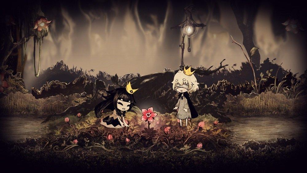 「嘘つき姫と盲目王子」画面1