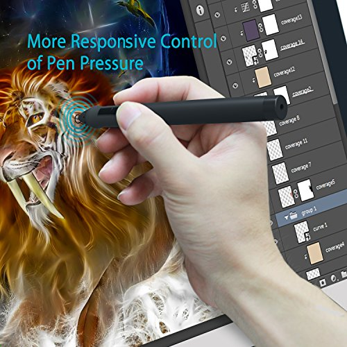 Huion 21.5 Inch Pen Display IPS Interactive Pen Monitor Graphics Monitor for Windows and Mac—GT-220 V2 Silver by Huion (Image #2)