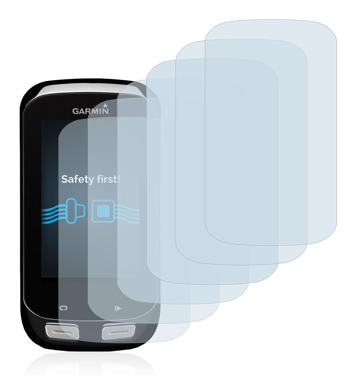Transparente 6 Unidades Savvies Protector de Pantalla para Garmin Edge 1000