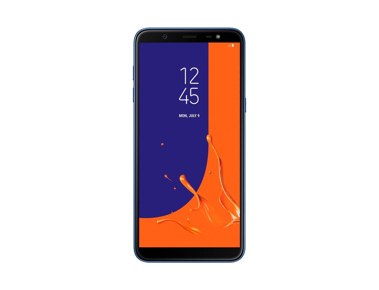 Samsung Galaxy J8 (2018) Duos SM-J810F/DS 32GB Dual SIM Factory Unlocked GSM Smartphone - International Version, No Warranty (Blue)