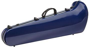 Ortola FTB-01 - Estuche fiber glass trombon bajo, color marino ...