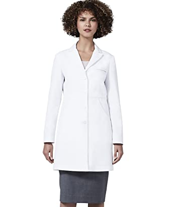 Womens Miranda B. Slim Fit M3 White Lab Coat