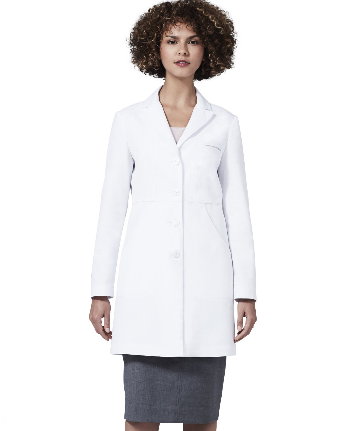 Medelita Women's Miranda B. Slim Fit M3 White Lab Coat (12, White)